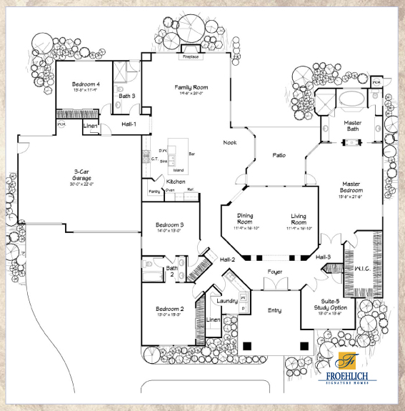 Belmonte froehlich for Belmonte builders floor plans