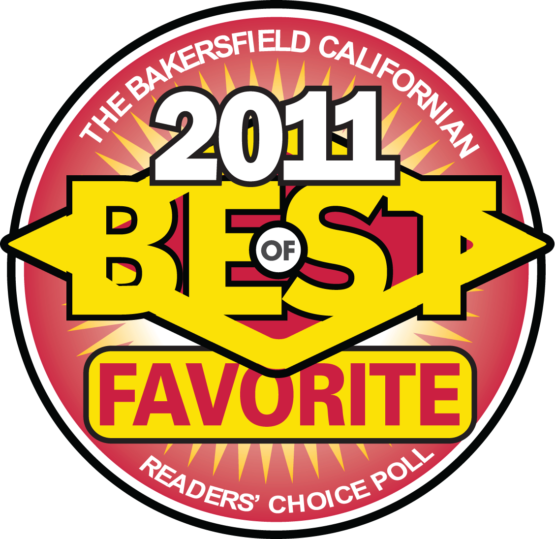 Best Favorite 2011 logo