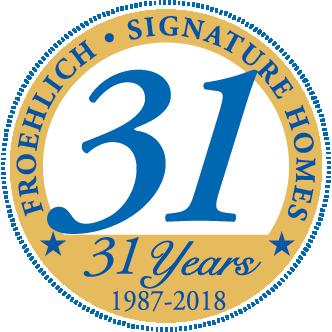 31 years logo