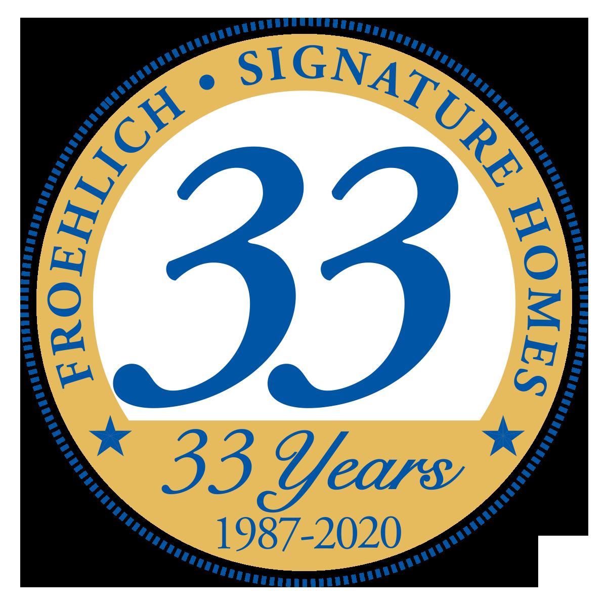 32 years logo
