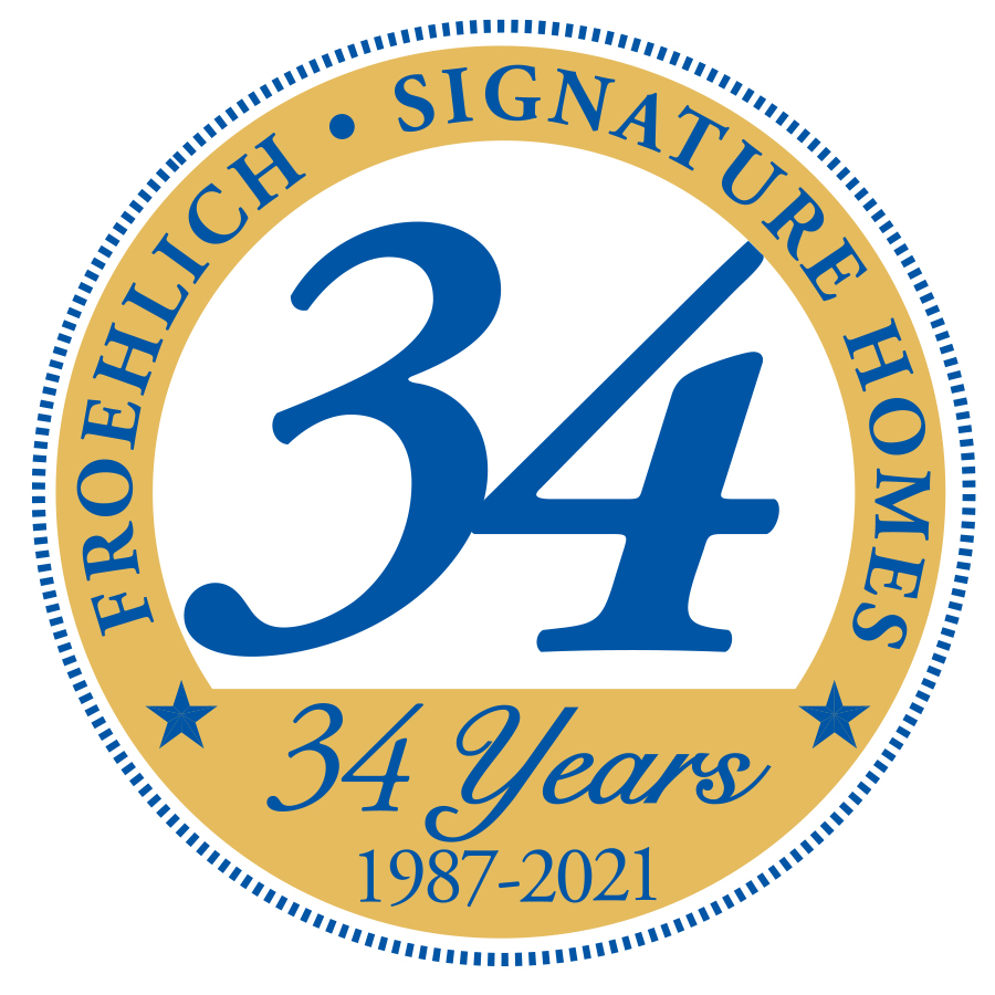 34 years logo
